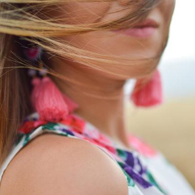 Les boucles d'oreilles asymétriques