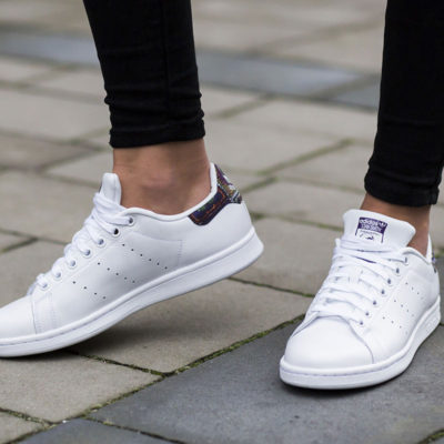 Comment nettoyer ses baskets blanches en cuir?